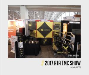 2017 ATA TMC Show, Ex-Guard's Booth