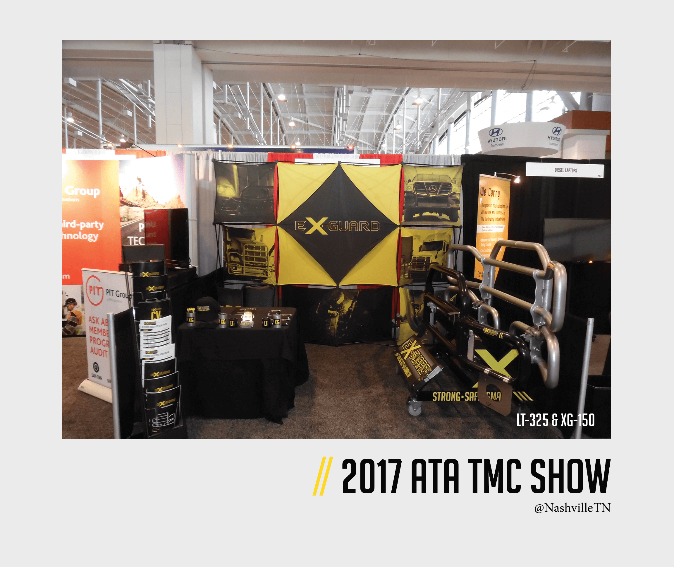 2017 ATA TMC Show, Ex-Guard's Booth