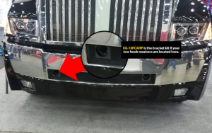 Western Star 5700 Tow Hook Placement 1