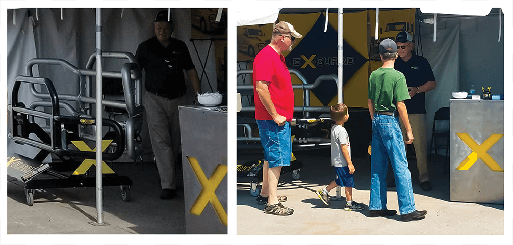 Trucker Jamboree Ex-Guard Booth